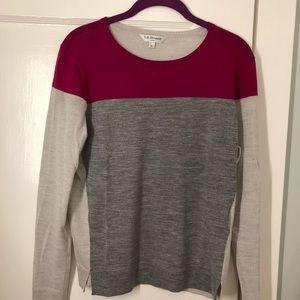 Sweaters - L.K. Bennett color block sweater